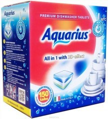 """Таблетки для ПММ """"Aquarius"""" ALLin1 (mega) 150 штук"""