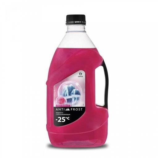 "GRASS Жидкость стеклоомывающая ""Antifrost-25"" fruit bubbles 4л"