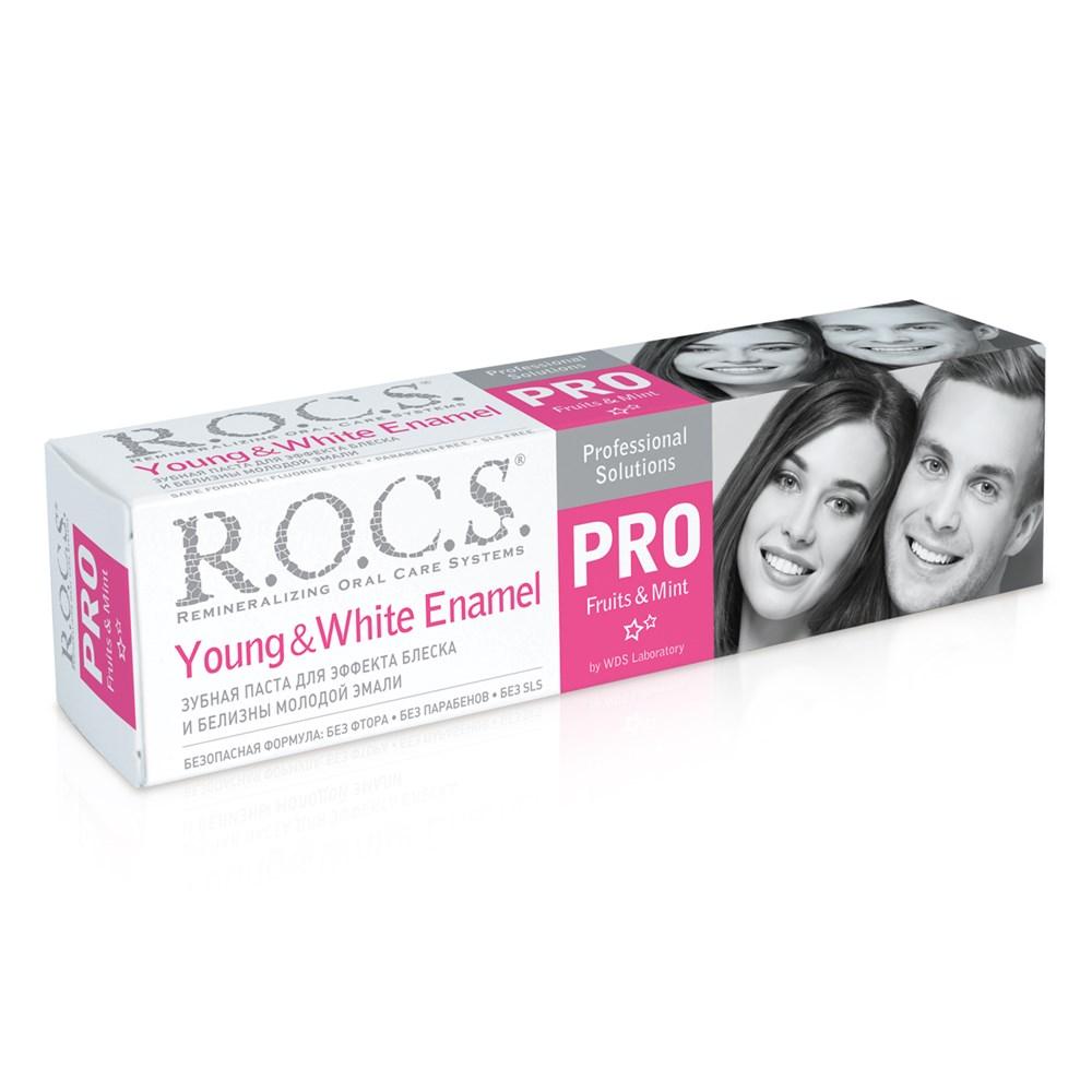 """З/п """"R.O.C.S. PRO Young & White Enamel"""", 135 гр"""