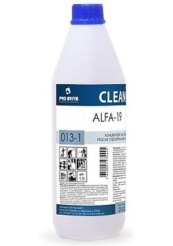 ALFA-19, 1 л, средство для уборки после ремонта - фото 5207