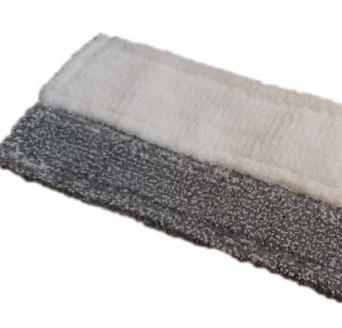 MMK-50-RS, Моп микрофибра комбинированный с абразивом, 50х13см, карман+язык - фото 5271
