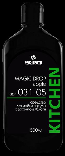 MAGIC DROP Apple, 0,5 л, средство для мытья посуды - фото 5274