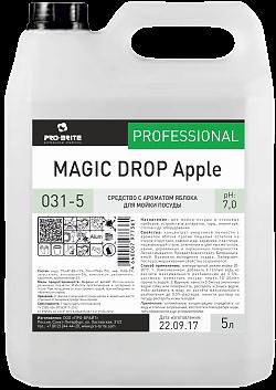 MAGIC DROP Apple, 5 л, средство для мытья посуды - фото 5277