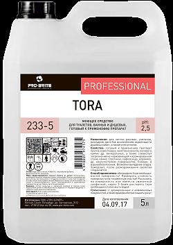TORA 5 л, средство для чистки санузлов и душевых - фото 5331