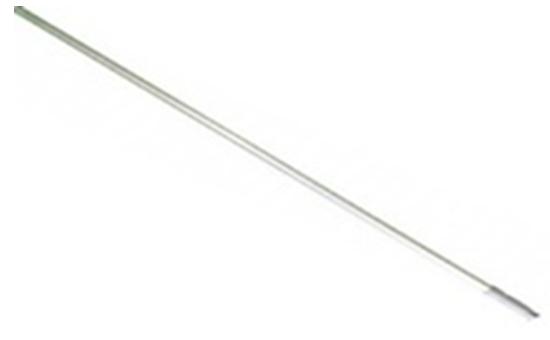 Алюминиевая рукоятка 140 см,диаметр 22 мм - фото 5363