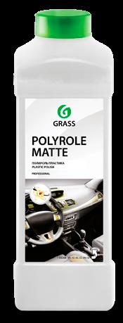 """Полироль-очиститель пластика матовый """"Polyrole Matte vanilla""""  1 л - фото 5380"""