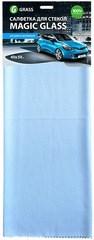 Салфетка  Magic Glass микрофибра для стекла  40*50 см - фото 5393