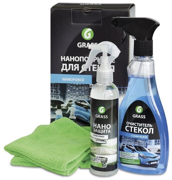 GRASS Комплект для нанопокрытия стекол автомобиля - фото 5417
