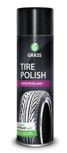 "GRASS Чернитель шин ""Tire Polish"" (аэрозоль 650 мл) - фото 5428"
