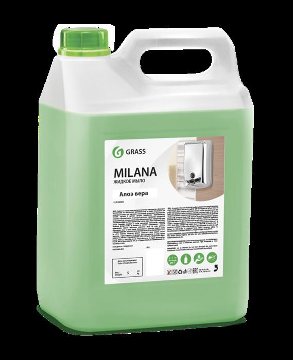 GRASS Жидкое крем-мыло Milana алоэ вера 5 кг - фото 5437