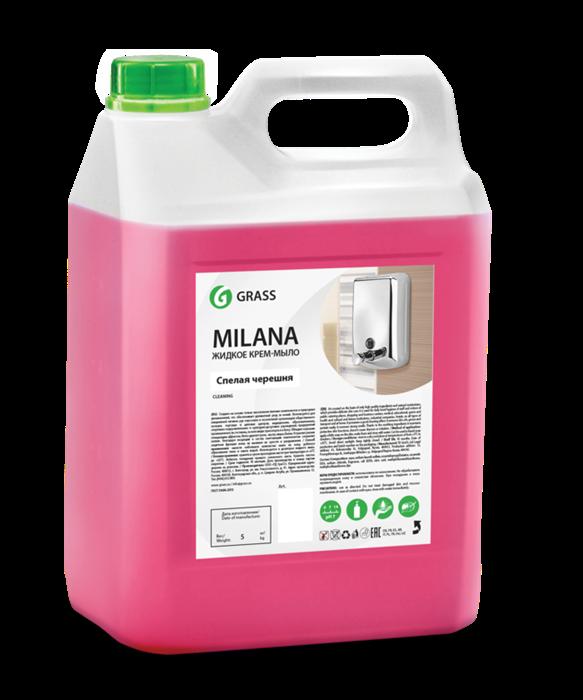 GRASS Жидкое крем-мыло Milana спелая черешня 5 кг - фото 5438