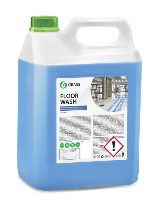 GRASS Нейтральное средство для мытья полов Floor Wash 5,1 кг - фото 5444