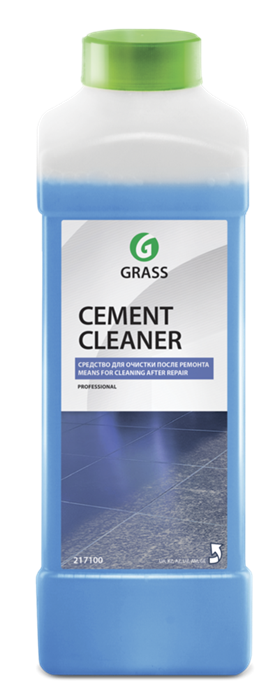 GRASS Очиститель после ремонта Cement Cleaner 1 л - фото 5453