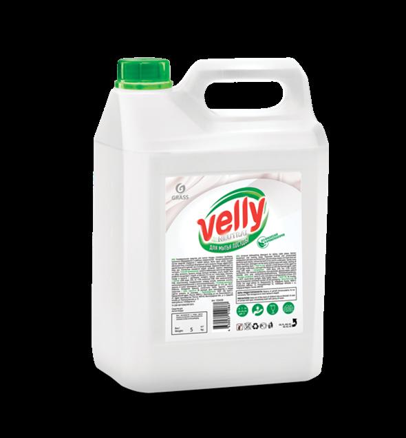 GRASS Средство для мытья посуды «Velly» neutral 5кг - фото 5459