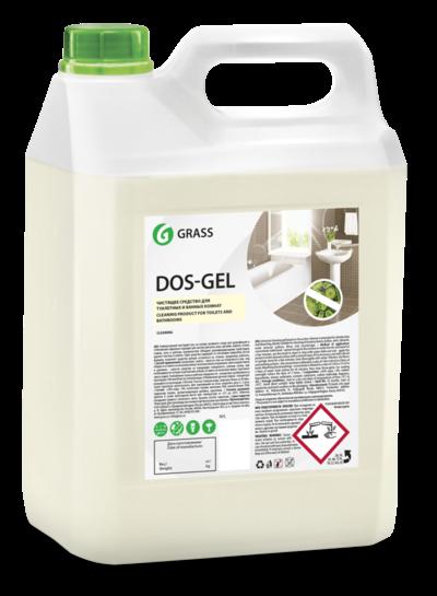 GRASS Дезинфицирующий чистящий гель DOS GEL 5,3 кг - фото 5470