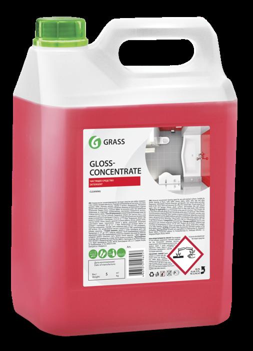 GRASS Концентрированное чистящее средство Gloss Concentrate (канистра 5 л) - фото 5474
