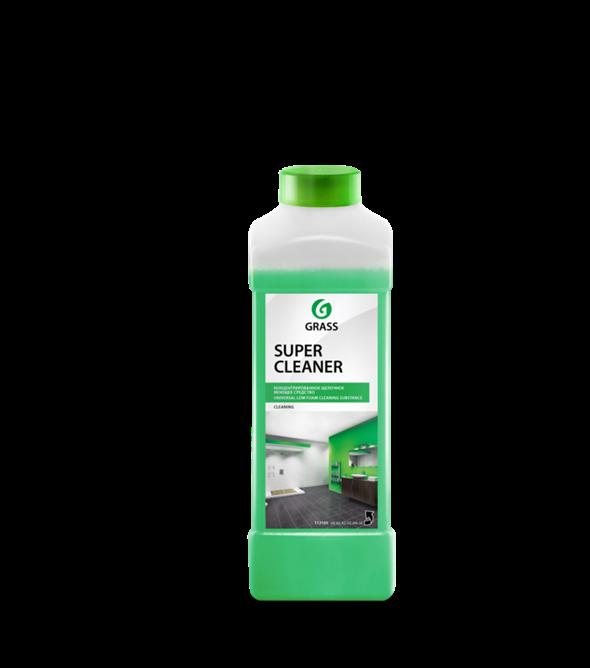 """GRASS Концентрированое щелочное моющее средство """"Super Cleaner"""" (канистра 1л) - фото 5481"""