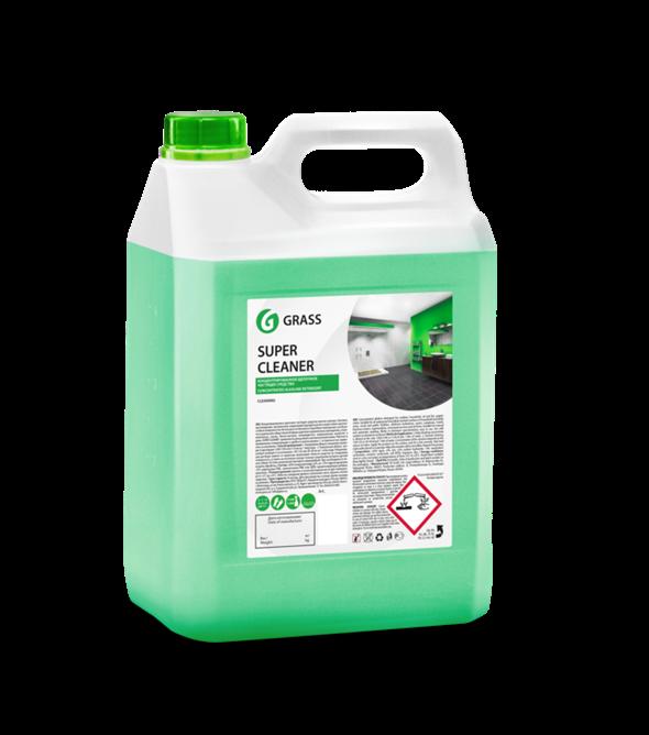 """GRASS Концентрированое щелочное моющее средство """"Super Cleaner"""" (канистра 5,8 кг) - фото 5482"""