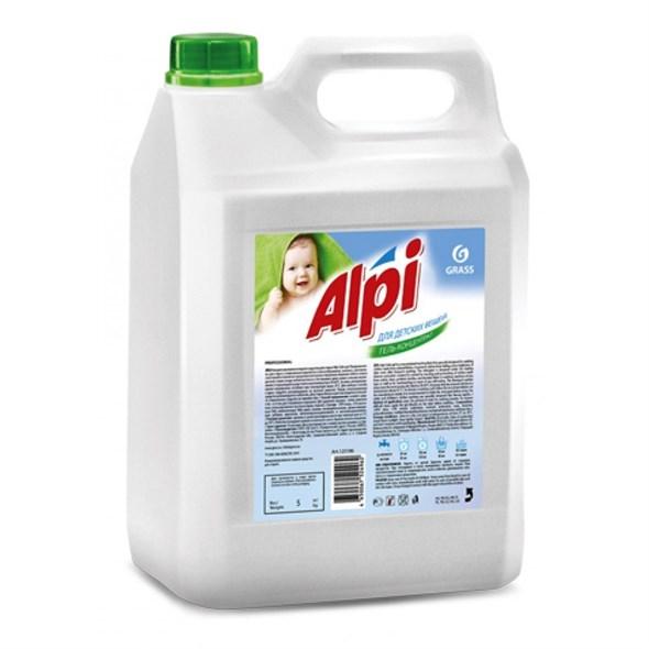 GRASS Гель-концентрат для стирки Alpi для детских вещей (канистра 5 кг) - фото 5483