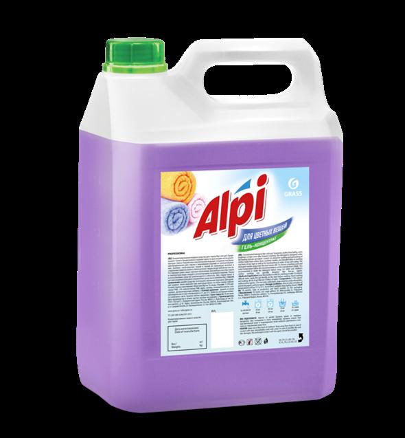 GRASS Гель-концентрат для стирки Alpi для цветных вещей (канистра 5 кг) - фото 5484