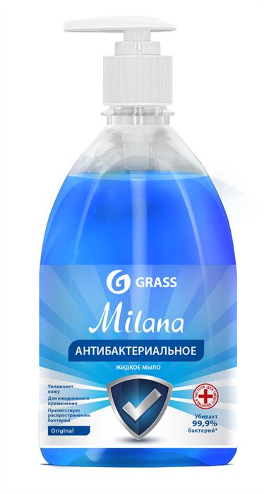 GRASS Жидкое крем-мыло Milana Original антибактериальное 500 мл - фото 5505