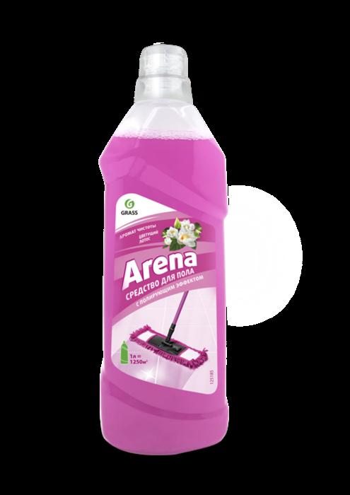 GRASS Средство для пола с полирующим эффектом ARENA цветущий лотос (канистра 1 л) - фото 5517