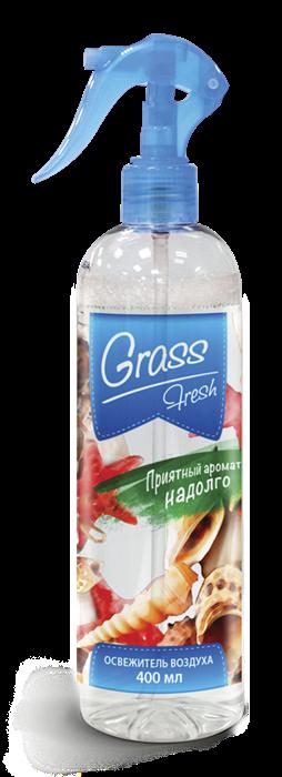 "Жидкий освежитель воздуха GRASS ""Fresh"" (флакон 400 мл) - фото 5530"