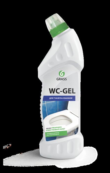 GRASS Средство для чистки сантехники WC-GEL 750 мл - фото 5534