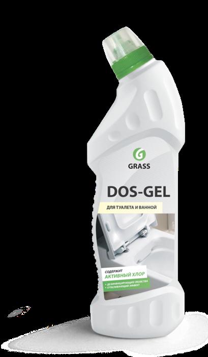 GRASS Дезинфицирующий чистящий гель DOS GEL 750 мл - фото 5536