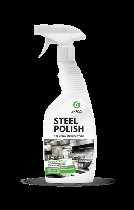 GRASS Очиститель для нержавеющей стали Steel Polish 600 мл - фото 5540