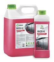 """GRASS Высококонцентрированное щелочное средство """"Bios K"""" (канистра 5,6 кг) - фото 5560"""
