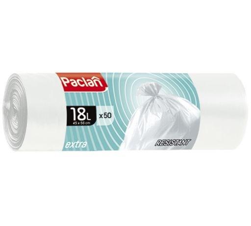 Мешки для мусора EXTRA 18л 45 х 56см 50шт.(ПНД) (белый) - фото 6170