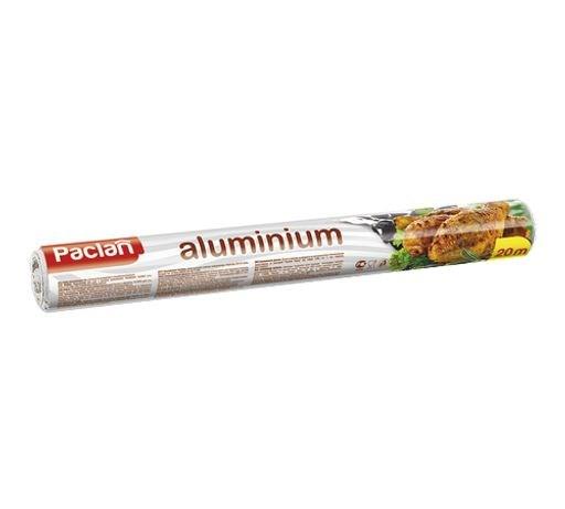 Фольга алюминиевая 20м х 29см в рулоне - фото 6247
