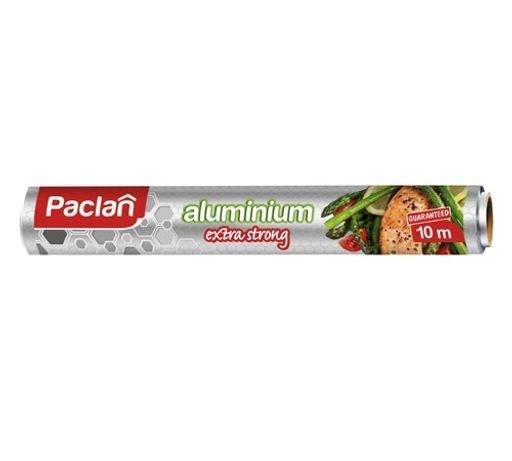 Фольга алюминиевая Paclan Extra strong с ЭМБОССИНГОМ  10 м*29 см в рулоне - фото 6251