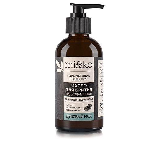 Гидрофильное масло для бритья Дубовый мох 100 мл - фото 6276