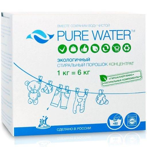 Стиральный порошок Pure Water 1 кг - фото 6344