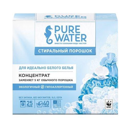 Стиральный порошок для белого белья Pure Water 800 г - фото 6346
