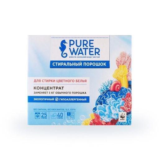 Стиральный порошок для цветного белья Pure Water 800 г - фото 6349