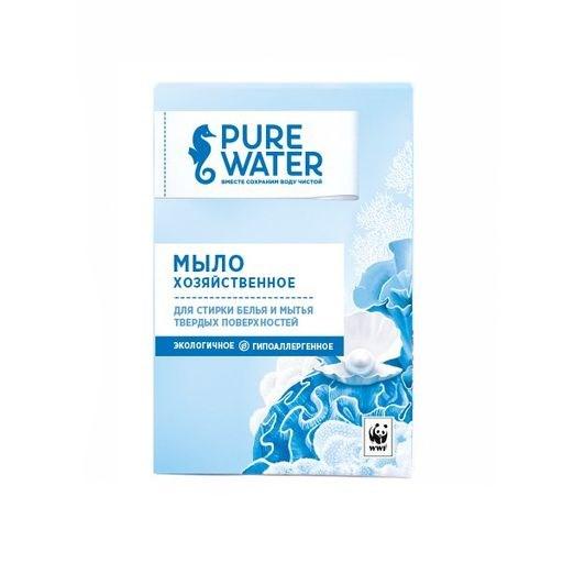 Хозяйственное мыло Pure Water 175 г - фото 6367