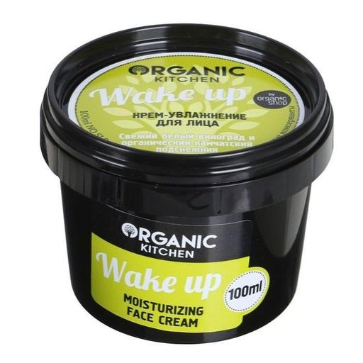 "Organic shop / Крем-увлажнение д/лица.""Wake up""100мл - фото 6572"