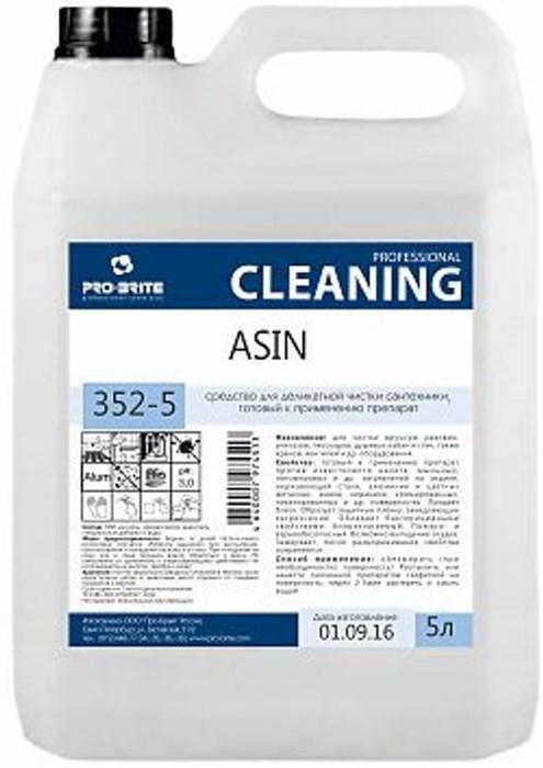 ASIN 5 л, средство для деликатной чистки сантехники - фото 6618
