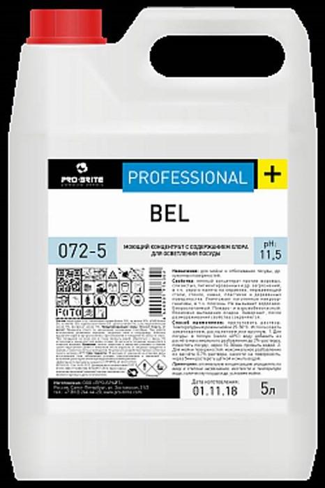 BEL, 5 л, концентрат с хлором для осветления посуды - фото 6621