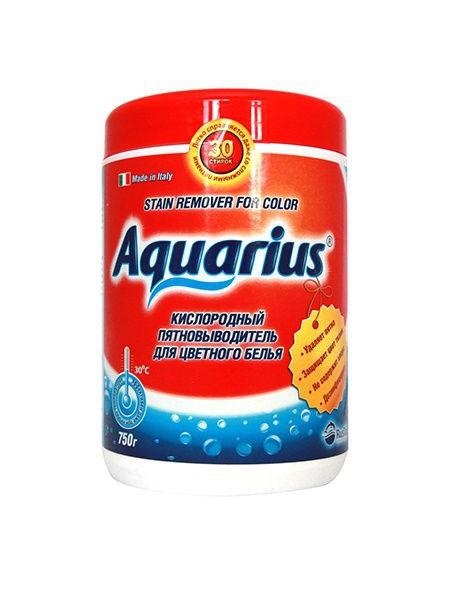 """Пятновыводитель для цветного белья """"AQUARIUS OXY"""" Италия 750 г - фото 6629"""