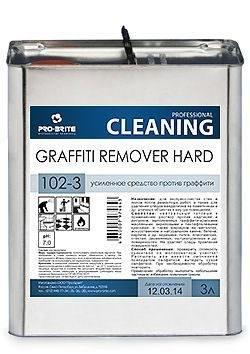 Graffiti Remover Hard, 3л, усиленное средство против граффити - фото 6660