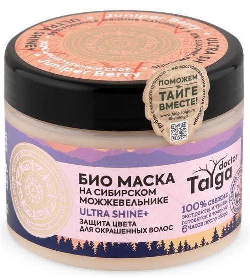 Био Маска Защита цвета для окрашенных волос Doctor Taiga Natura Siberica - фото 6843