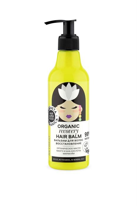 "Hair Super Food / Бальзам для волос ""восстановление"" Organic hair balm ""Recovery"" , 250 мл - фото 6922"