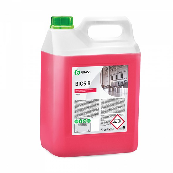 "Щелочное моющее средство ""Bios B"" (канистра 5,5 кг) - фото 7163"