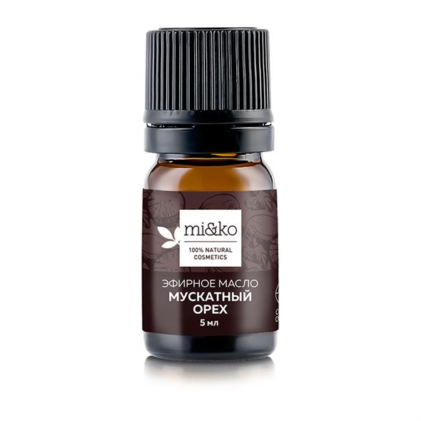 Эфирное масло Мускатный орех 5 мл, органик - фото 7264