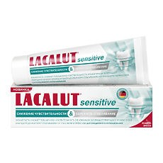 LACALUT sensitive снижение чувствительности & бережное отбеливание зубная паста 75 мл - фото 7282