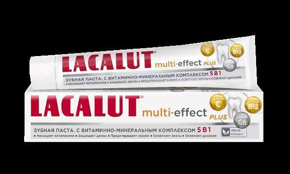 LACALUT multi-effect plus зубная паста 50 мл - фото 7284